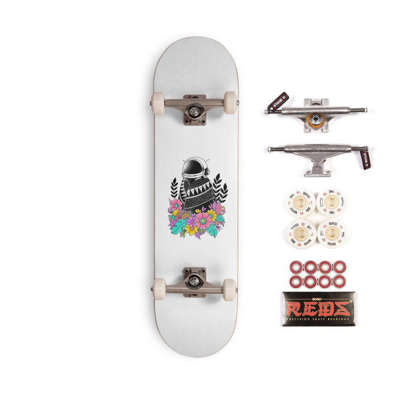 Botanical Space Accessories Complete - Pro Skateboard by godzillarge's Artist Shop