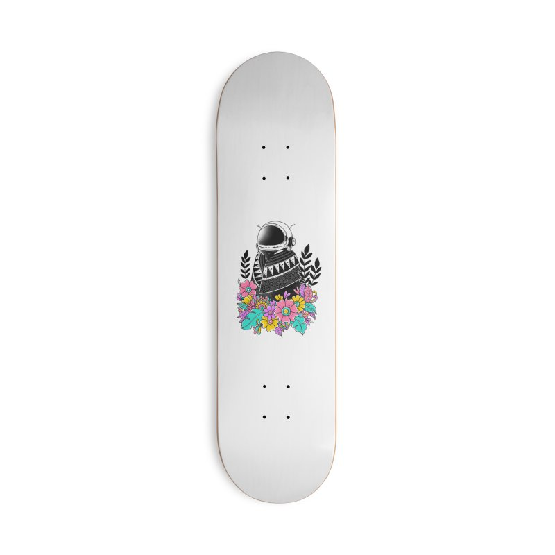 Botanical Space Accessories Deck Only Skateboard by godzillarge's Artist Shop