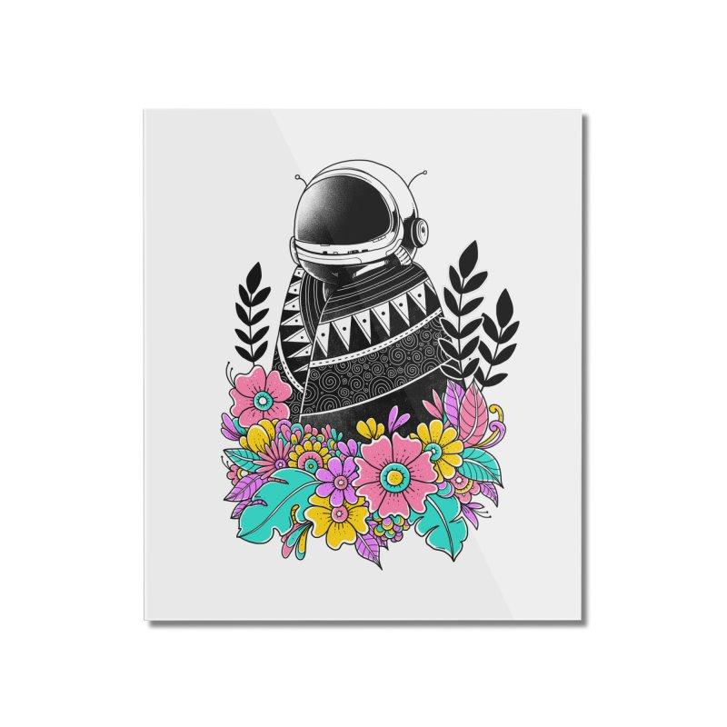 Botanical Space Home Mounted Acrylic Print by godzillarge's Artist Shop