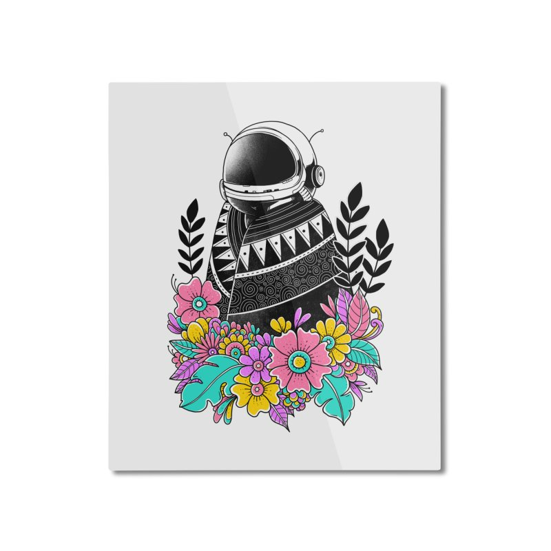 Botanical Space Home Mounted Aluminum Print by godzillarge's Artist Shop