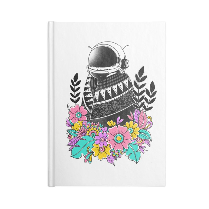 Botanical Space Accessories Lined Journal Notebook by godzillarge's Artist Shop