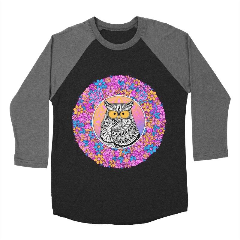 Spring Owl Women's Baseball Triblend Longsleeve T-Shirt by godzillarge's Artist Shop