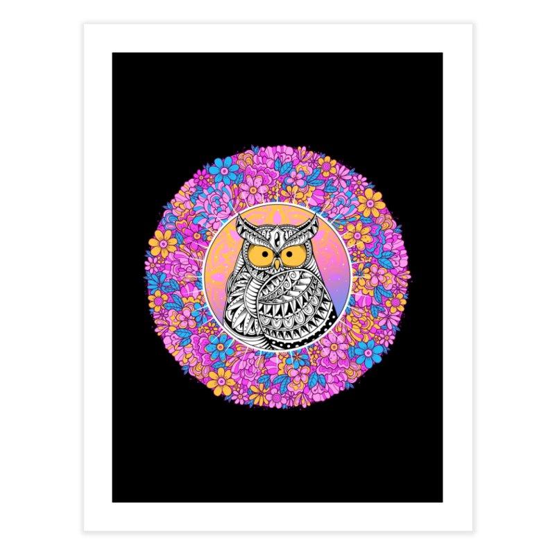 Spring Owl Home Fine Art Print by godzillarge's Artist Shop