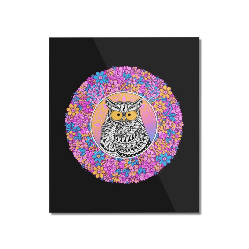 Spring Owl Home Mounted Acrylic Print by godzillarge's Artist Shop
