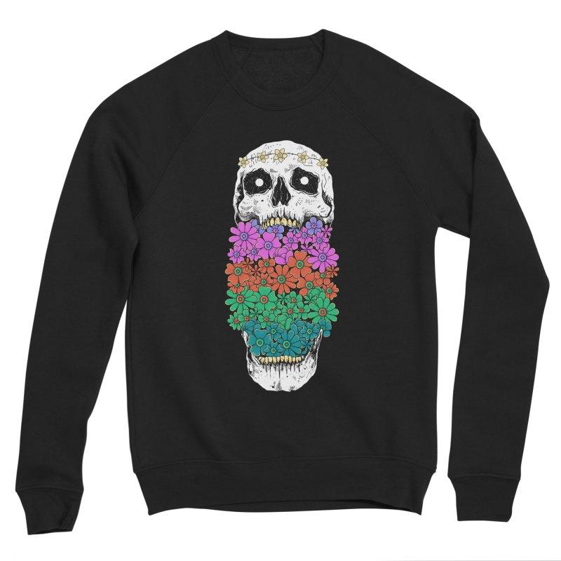 Skull Anatomy of Hippie Women's Sponge Fleece Sweatshirt by godzillarge's Artist Shop