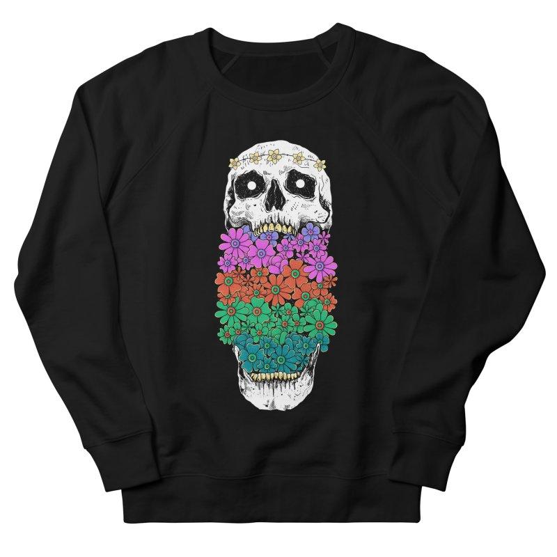 Skull Anatomy of Hippie Men's French Terry Sweatshirt by godzillarge's Artist Shop
