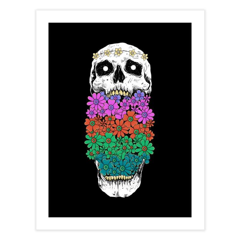 Skull Anatomy of Hippie Home Fine Art Print by godzillarge's Artist Shop