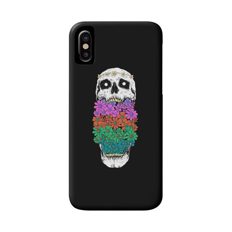 Skull Anatomy of Hippie Accessories Phone Case by godzillarge's Artist Shop