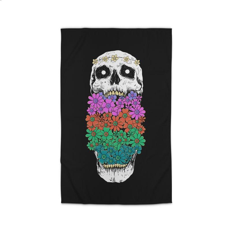 Skull Anatomy of Hippie Home Rug by godzillarge's Artist Shop