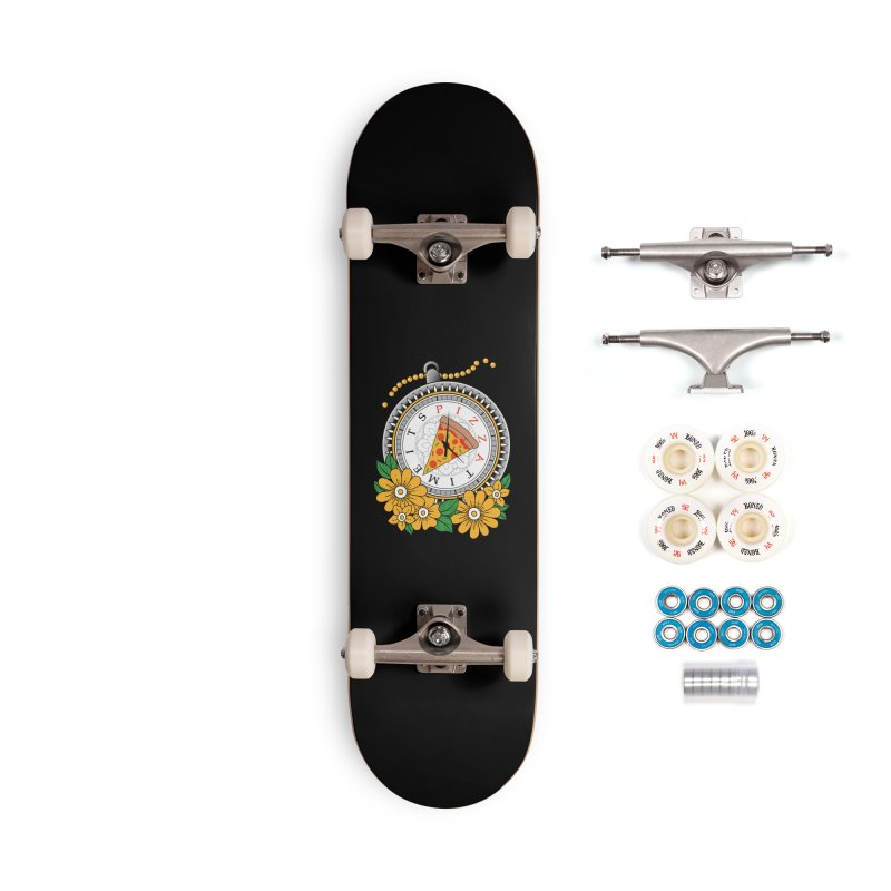 It's Pizza Time Accessories Complete - Premium Skateboard by godzillarge's Artist Shop