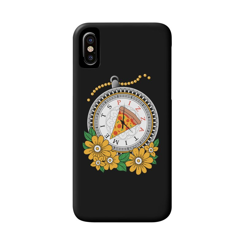It's Pizza Time Accessories Phone Case by godzillarge's Artist Shop
