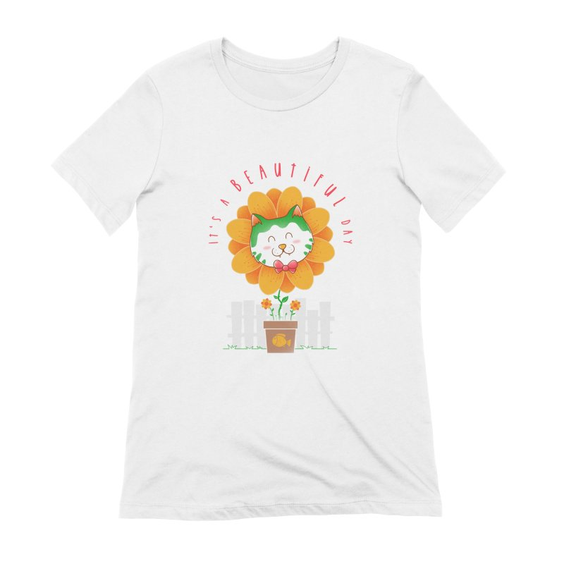 It's A Beautiful Day Women's Extra Soft T-Shirt by godzillarge's Artist Shop