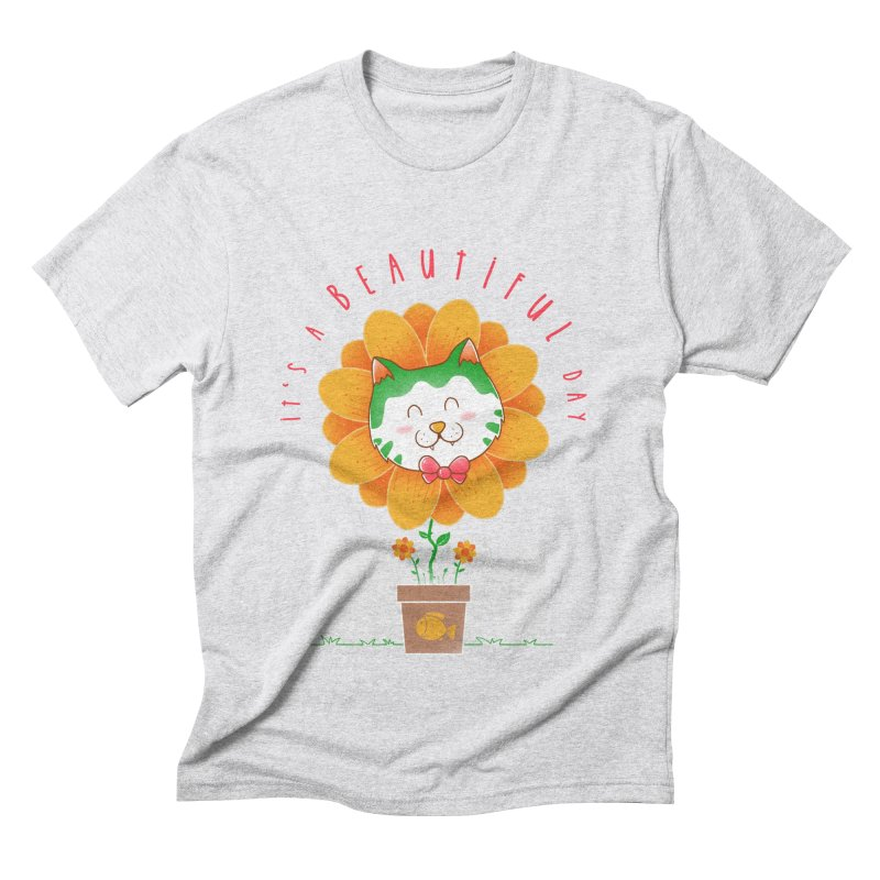 It's A Beautiful Day Men's Triblend T-Shirt by godzillarge's Artist Shop