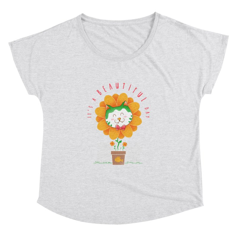 It's A Beautiful Day Women's Dolman Scoop Neck by godzillarge's Artist Shop