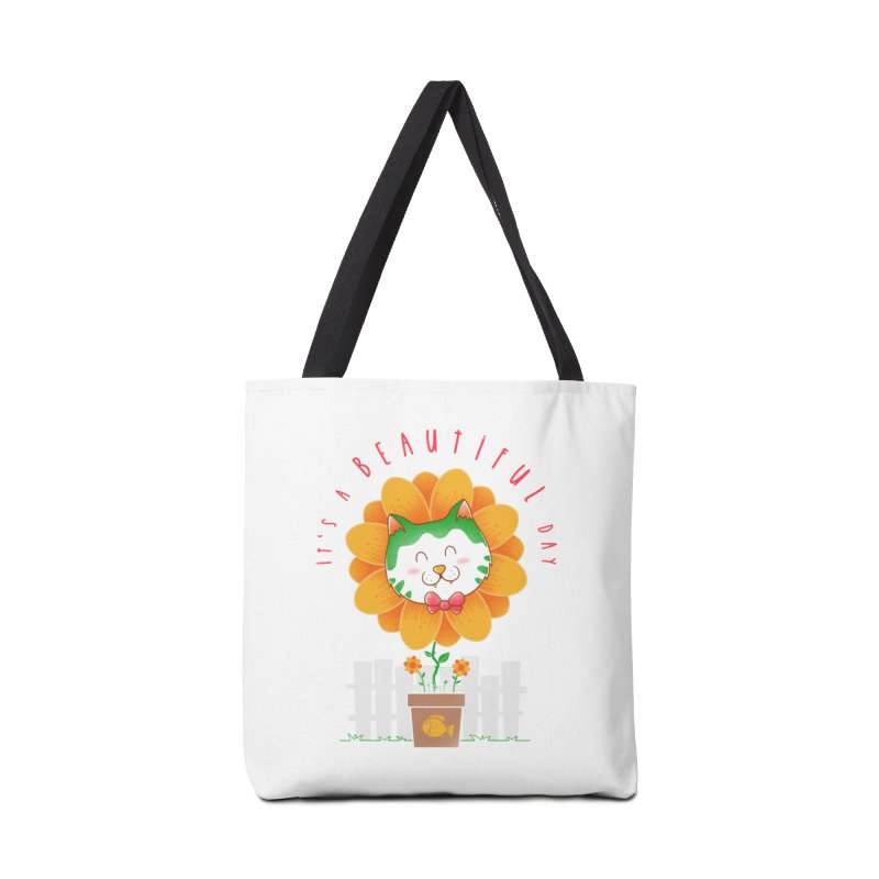 It's A Beautiful Day Accessories Tote Bag Bag by godzillarge's Artist Shop