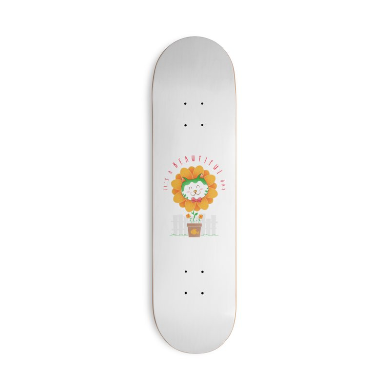 It's A Beautiful Day Accessories Deck Only Skateboard by godzillarge's Artist Shop