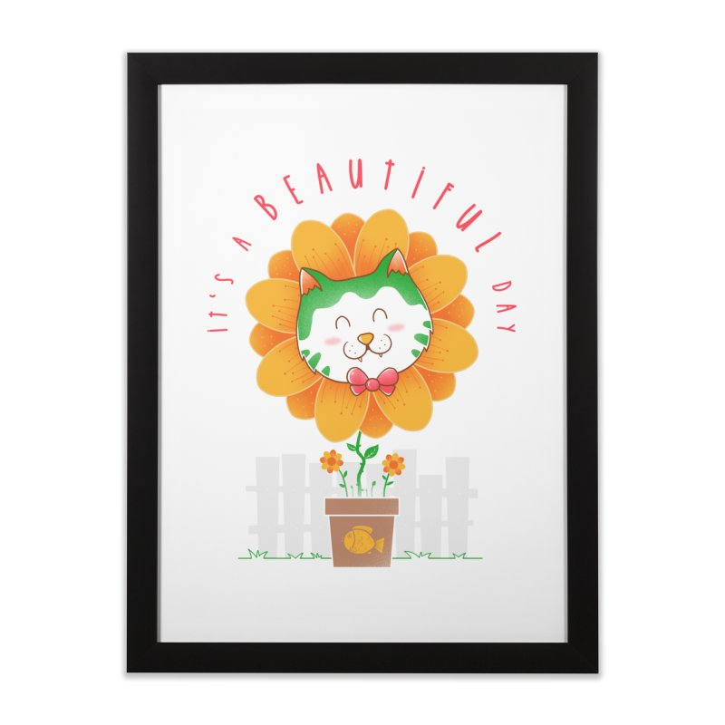It's A Beautiful Day Home Framed Fine Art Print by godzillarge's Artist Shop