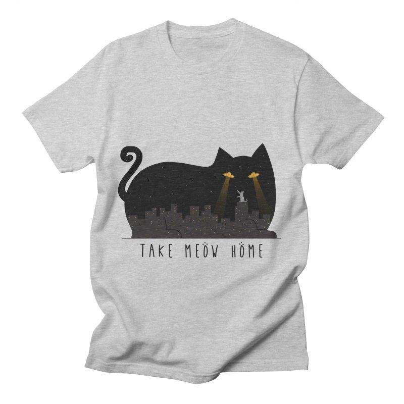 Take Meow Home Men's T-Shirt by godzillarge's Artist Shop