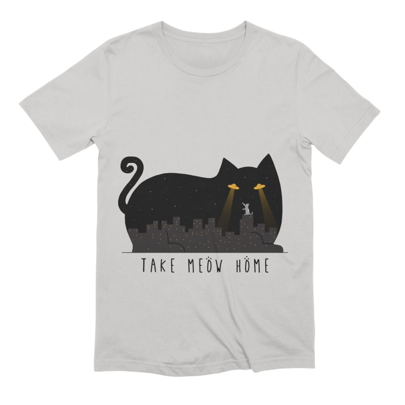 Take Meow Home Men's Extra Soft T-Shirt by godzillarge's Artist Shop