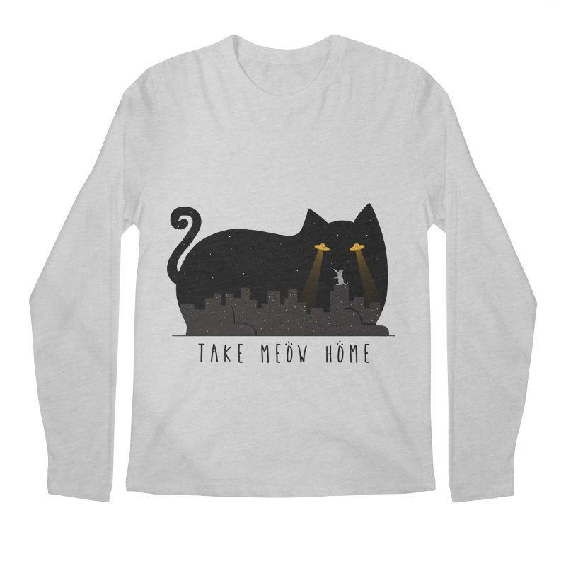 Take Meow Home Men's Regular Longsleeve T-Shirt by godzillarge's Artist Shop