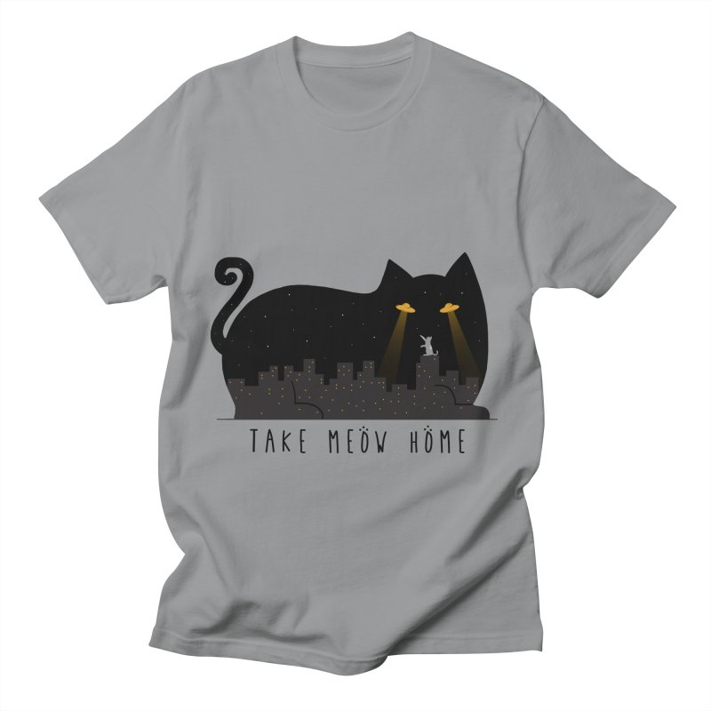 Take Meow Home Men's Regular T-Shirt by godzillarge's Artist Shop