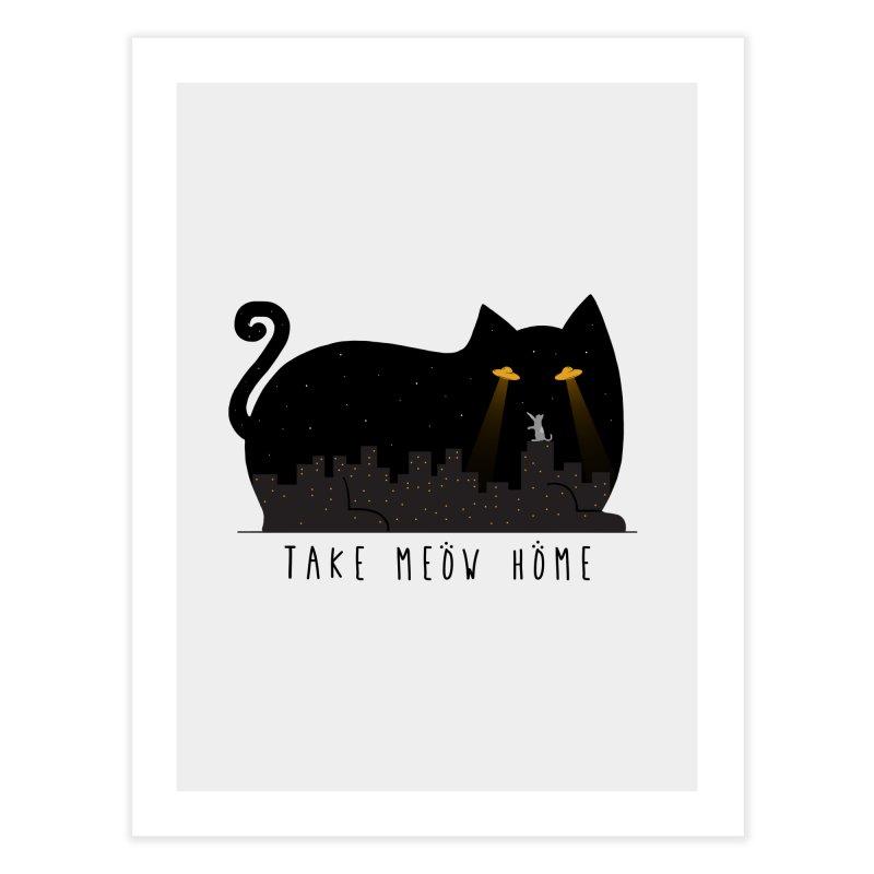 Take Meow Home Home Fine Art Print by godzillarge's Artist Shop