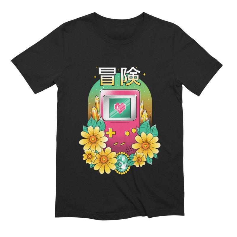 Digital Adventure Men's Extra Soft T-Shirt by godzillarge's Artist Shop