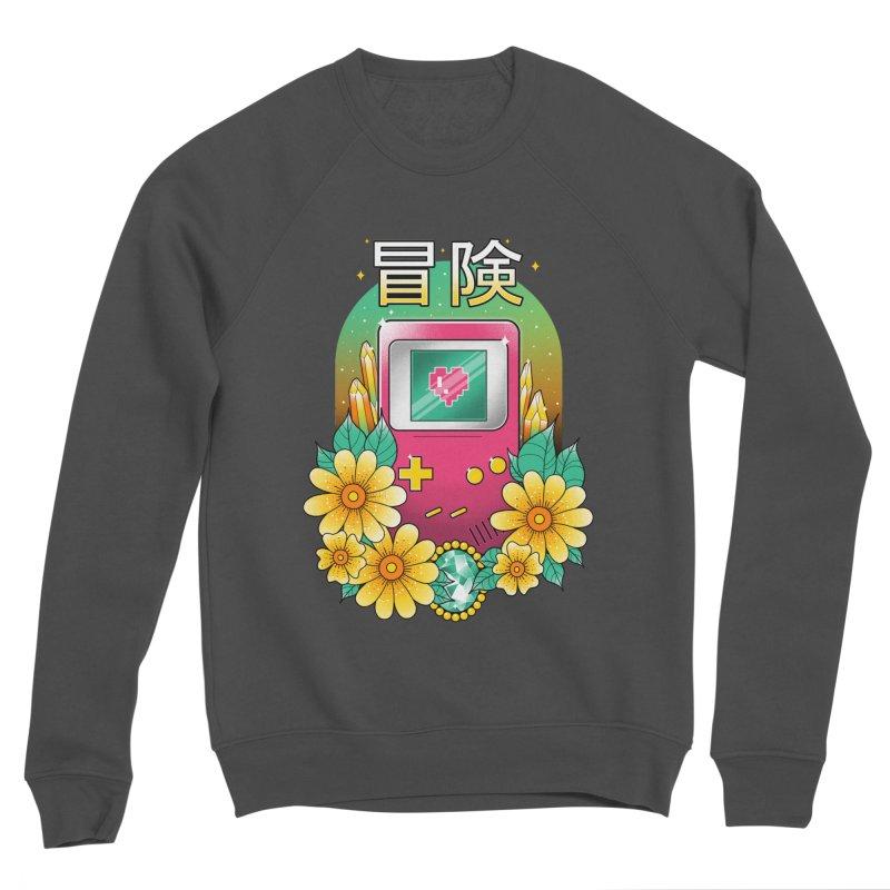 Digital Adventure Women's Sponge Fleece Sweatshirt by godzillarge's Artist Shop