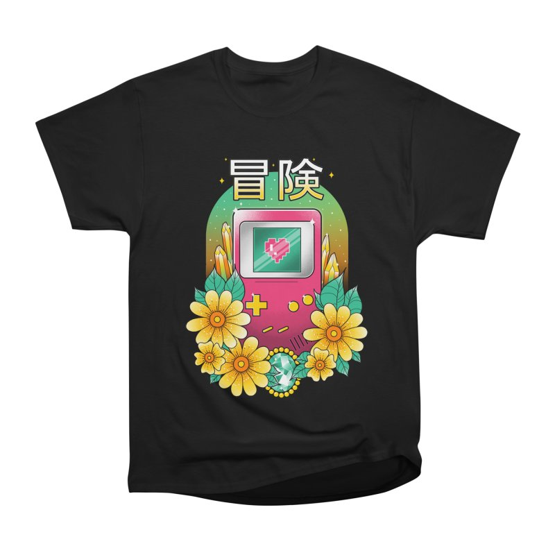 Digital Adventure Women's Heavyweight Unisex T-Shirt by godzillarge's Artist Shop