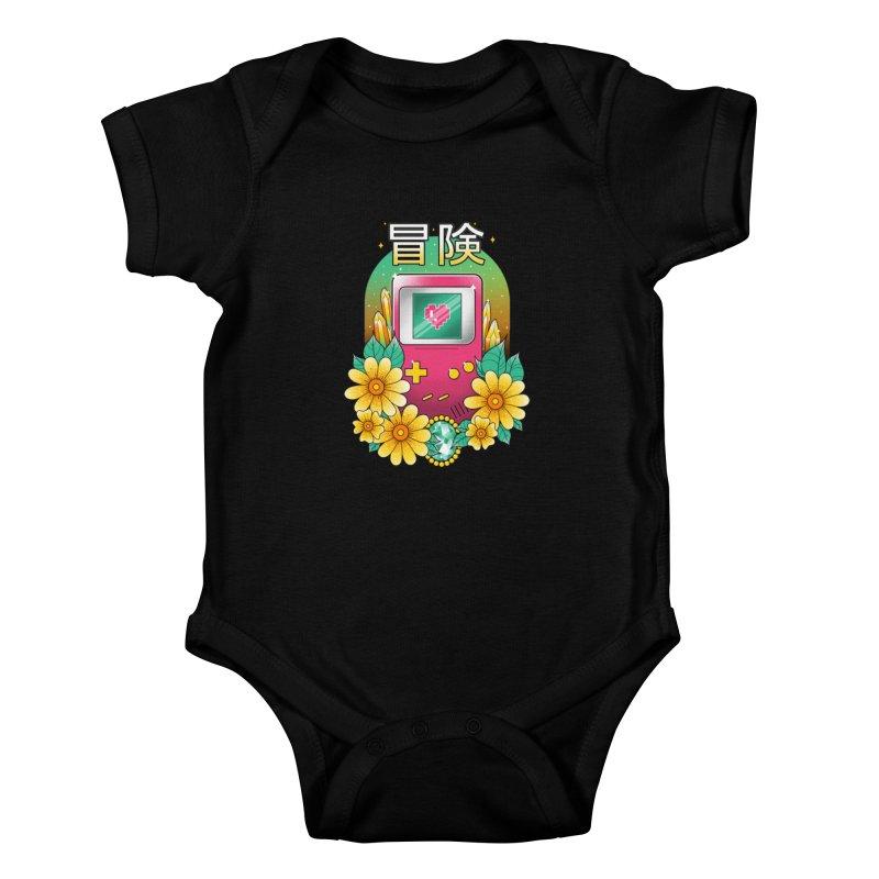 Digital Adventure Kids Baby Bodysuit by godzillarge's Artist Shop