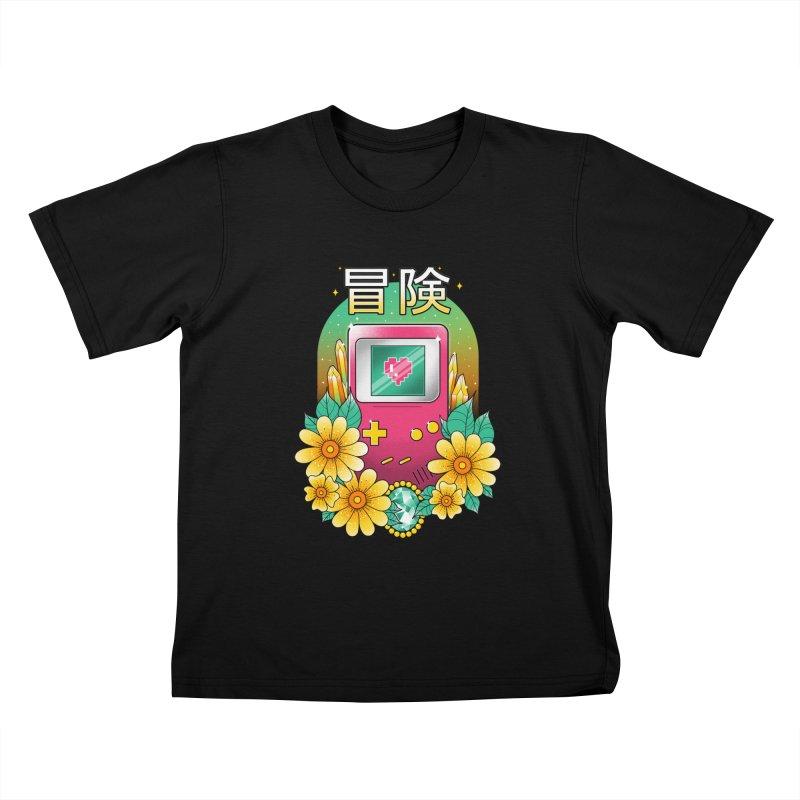 Digital Adventure Kids T-Shirt by godzillarge's Artist Shop