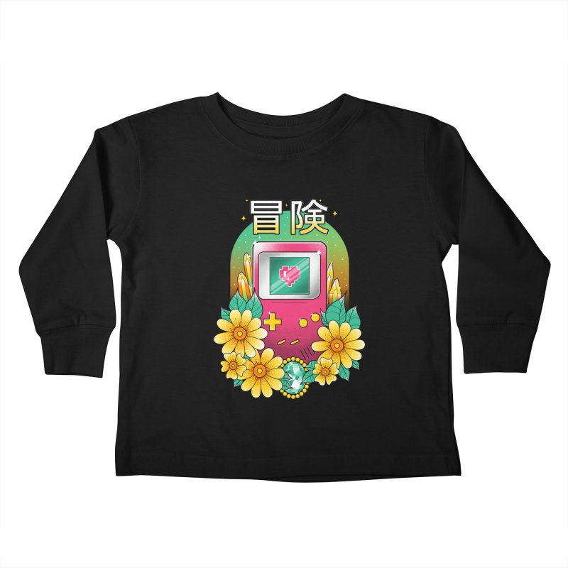Digital Adventure Kids Toddler Longsleeve T-Shirt by godzillarge's Artist Shop