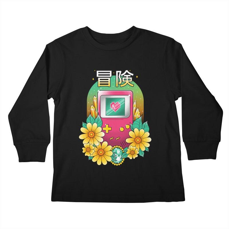 Digital Adventure Kids Longsleeve T-Shirt by godzillarge's Artist Shop
