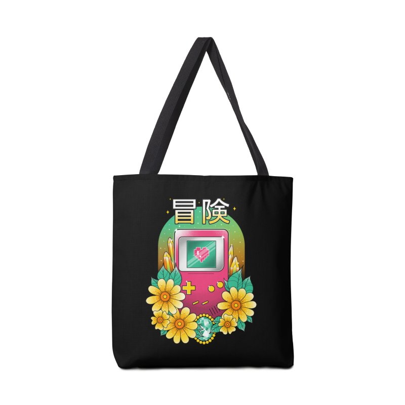 Digital Adventure Accessories Tote Bag Bag by godzillarge's Artist Shop