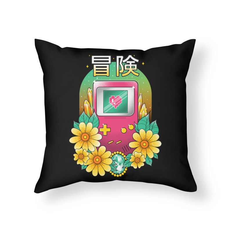 Digital Adventure Home Throw Pillow by godzillarge's Artist Shop