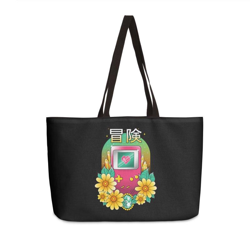 Digital Adventure Accessories Weekender Bag Bag by godzillarge's Artist Shop