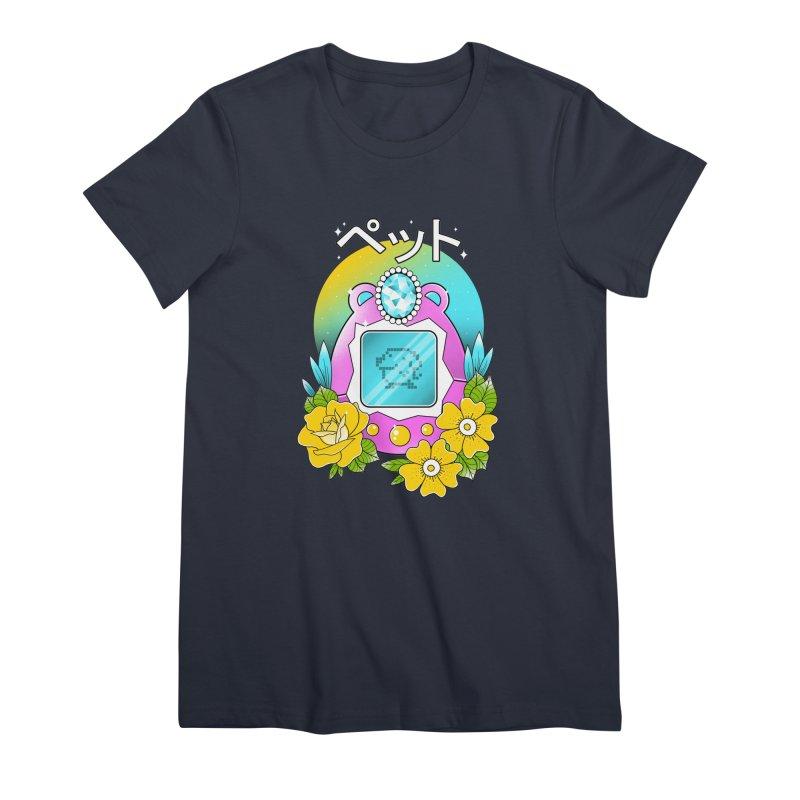 Digital Pet Women's Premium T-Shirt by godzillarge's Artist Shop