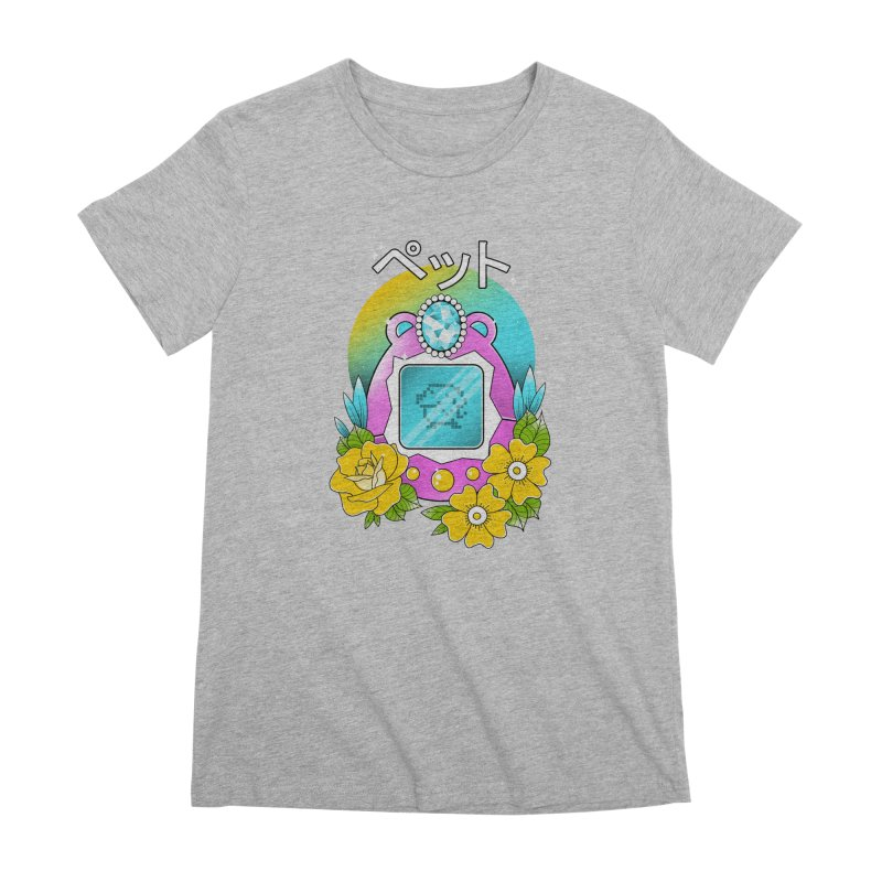 Digital Pet Women's Premium T-Shirt by godzillarge's Artist Shop
