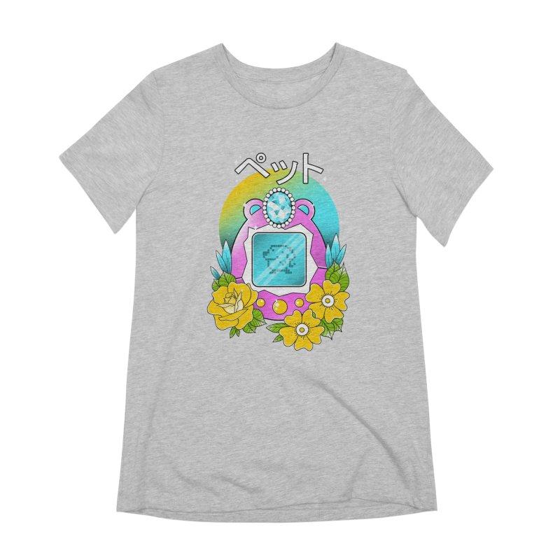 Digital Pet Women's Extra Soft T-Shirt by godzillarge's Artist Shop