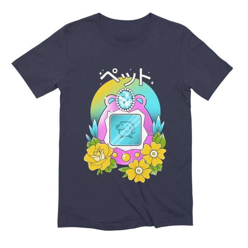 Digital Pet Men's Extra Soft T-Shirt by godzillarge's Artist Shop