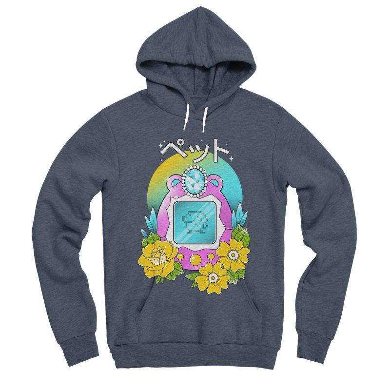 Digital Pet Women's Sponge Fleece Pullover Hoody by godzillarge's Artist Shop