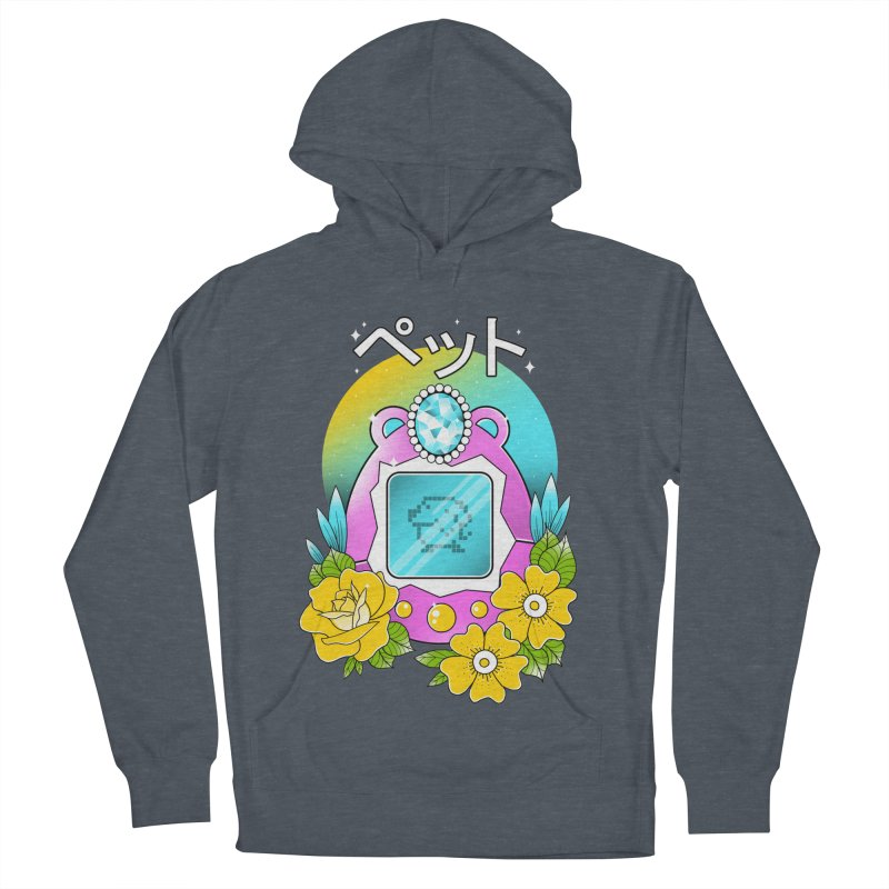 Digital Pet Women's French Terry Pullover Hoody by godzillarge's Artist Shop