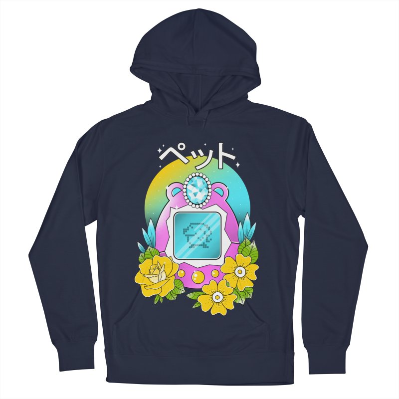 Digital Pet Men's French Terry Pullover Hoody by godzillarge's Artist Shop