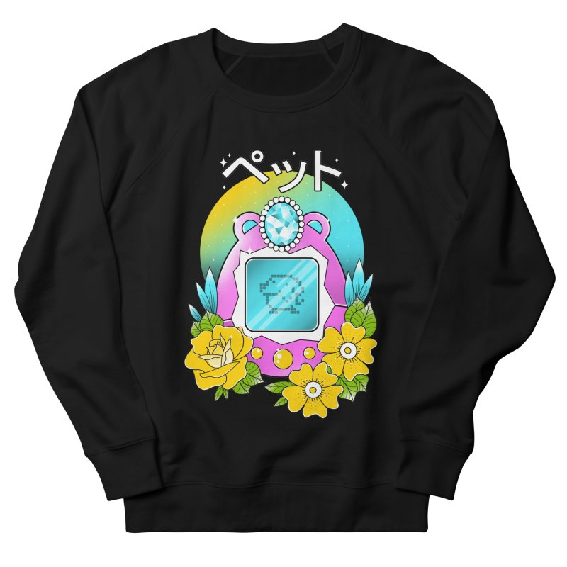 Digital Pet Women's French Terry Sweatshirt by godzillarge's Artist Shop