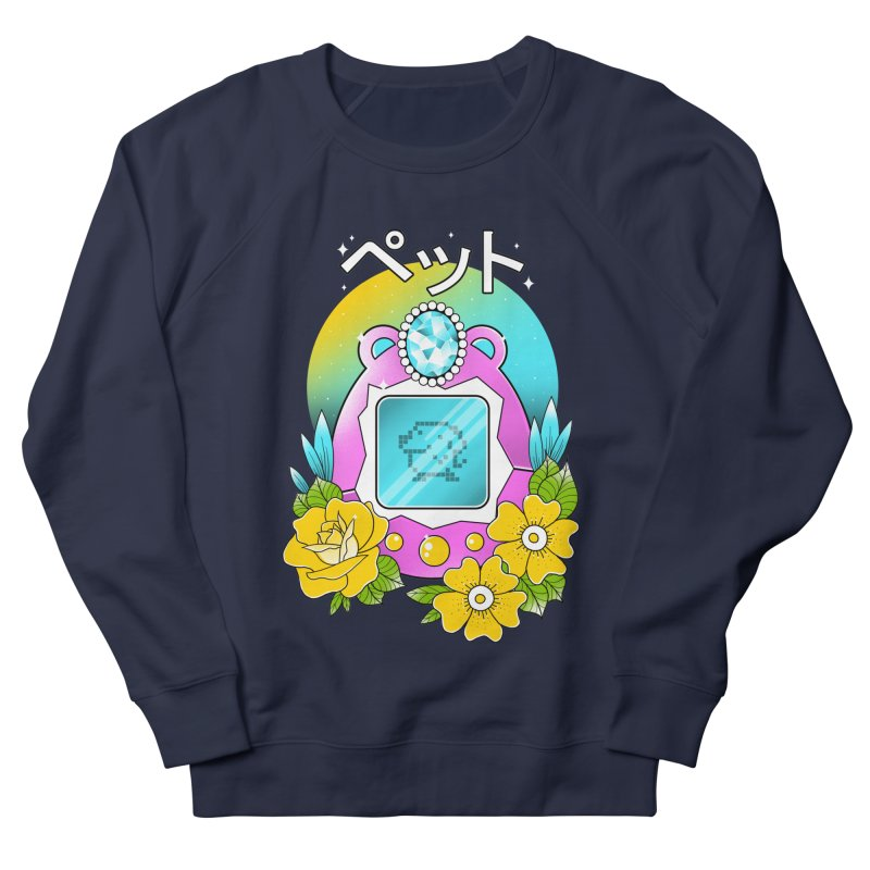 Digital Pet Men's French Terry Sweatshirt by godzillarge's Artist Shop