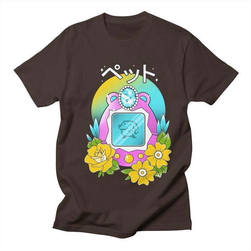 Digital Pet Men's Regular T-Shirt by godzillarge's Artist Shop