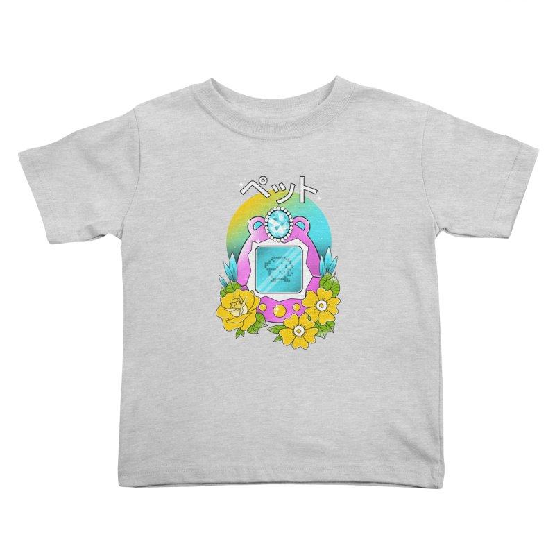 Digital Pet Kids Toddler T-Shirt by godzillarge's Artist Shop