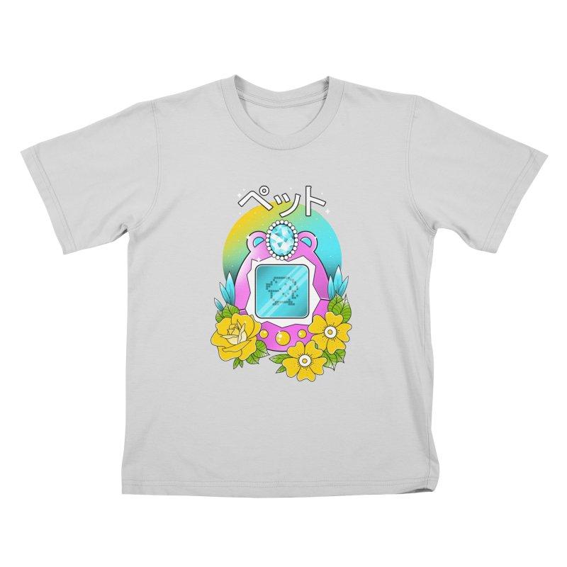Digital Pet Kids T-Shirt by godzillarge's Artist Shop