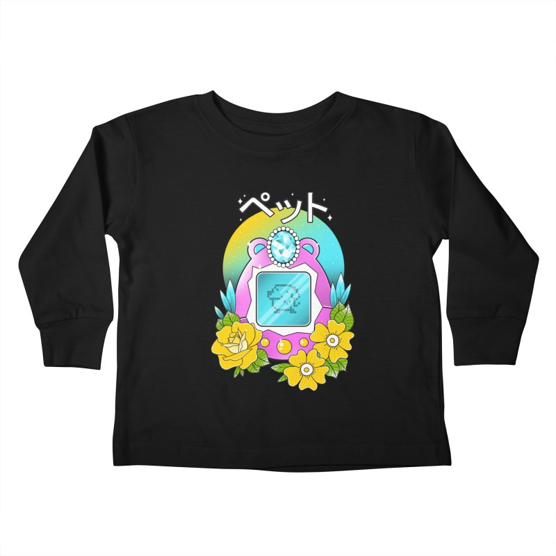 Digital Pet Kids Toddler Longsleeve T-Shirt by godzillarge's Artist Shop