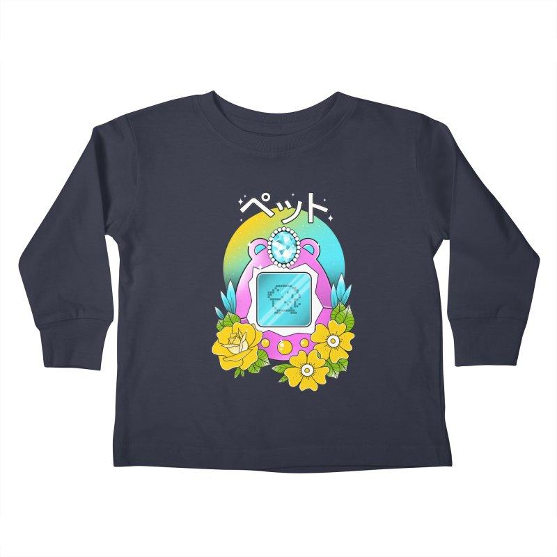 Digital Pet Kids Toddler Longsleeve T-Shirt by godzillarge's Artist Shop